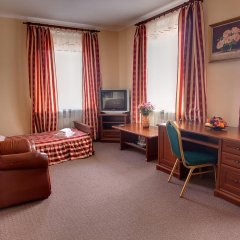Гостиница Корона 3* Стандартный номер двуспальная кровать фото 5