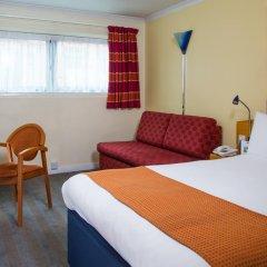Отель Holiday Inn Express Glasgow City Centre Riverside 3* Стандартный номер с различными типами кроватей фото 3