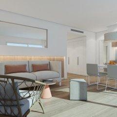 Отель Aparthotel Ponent Mar Апартаменты комфорт с двуспальной кроватью фото 11