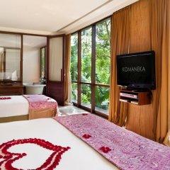 Отель Komaneka at Bisma 5* Семейный люкс с двуспальной кроватью фото 9