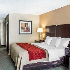 Отель Holiday Inn Express Columbus Downtown США, Колумбус - отзывы, цены и фото номеров - забронировать отель Holiday Inn Express Columbus Downtown онлайн комната для гостей фото 5