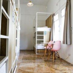 Inhawi Hostel Кровать в общем номере с двухъярусной кроватью фото 24