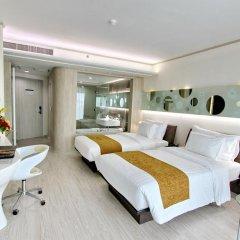 The Pattaya Discovery Beach Hotel Pattaya 4* Улучшенный номер с двуспальной кроватью фото 5