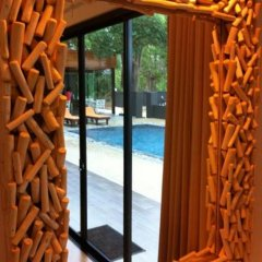 Отель Villa Gris Pranburi 3* Семейный номер Делюкс с двуспальной кроватью фото 9
