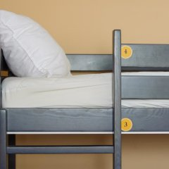 Hogwarts Hostel Кровать в общем номере с двухъярусной кроватью фото 9