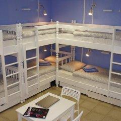 Гостевой Дом Полянка Кровать в общем номере с двухъярусными кроватями фото 27