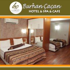 BC Burhan Cacan Hotel & Spa & Cafe 3* Стандартный семейный номер с различными типами кроватей фото 8