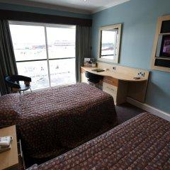 Отель Hilton Garden Inn Manchester Emirates Old Trafford 4* Стандартный номер с различными типами кроватей фото 2