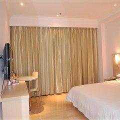 Отель City Comfort Inn Guangzhou Jiahe Branch комната для гостей фото 4