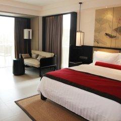 Отель Pullman Oceanview Sanya Bay Resort & Spa 4* Улучшенный номер с различными типами кроватей фото 3