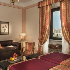 Отель Nord Nuova Roma 3* Стандартный номер с различными типами кроватей фото 11