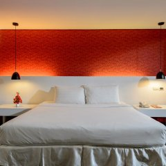 I Residence Hotel Silom 3* Номер Делюкс с двуспальной кроватью
