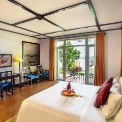 Отель Hoi An Beach Resort 4* Номер Делюкс с различными типами кроватей фото 4