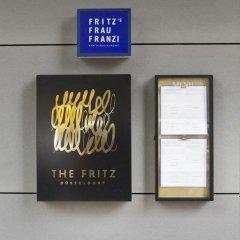 Отель THE FRITZ Düsseldorf Германия, Дюссельдорф - отзывы, цены и фото номеров - забронировать отель THE FRITZ Düsseldorf онлайн интерьер отеля фото 3