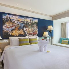Отель Novotel Phuket Resort 4* Улучшенный номер с двуспальной кроватью фото 3