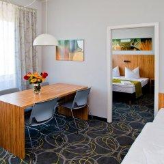 Отель City-herberge Dresden 3* Семейные номера Комфорт с двуспальной кроватью фото 2