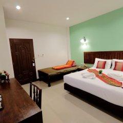 Отель BS Airport at Phuket 3* Стандартный номер с различными типами кроватей фото 6