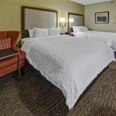 Отель Hampton Inn Concord/Kannapolis 2* Стандартный номер с различными типами кроватей фото 2