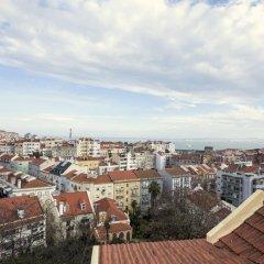Отель Lovelystay Graca Terrace With River View балкон