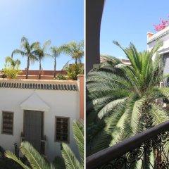Отель Riad Dar Zelda Марокко, Марракеш - отзывы, цены и фото номеров - забронировать отель Riad Dar Zelda онлайн балкон