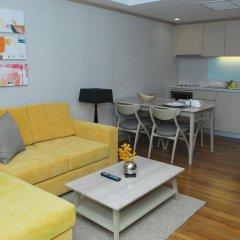Отель Amari Residences Bangkok 4* Студия Делюкс с различными типами кроватей фото 3