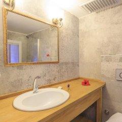 Akdeniz Beach Hotel Турция, Олюдениз - 1 отзыв об отеле, цены и фото номеров - забронировать отель Akdeniz Beach Hotel онлайн ванная фото 2