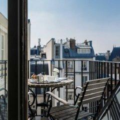 Hotel D'orsay Париж балкон