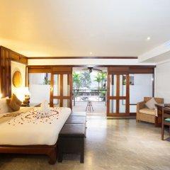 Отель Baan Yin Dee Boutique Resort 4* Номер Делюкс двуспальная кровать фото 3