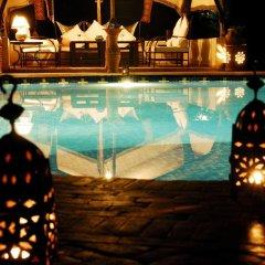 Отель Ecolodge Bab El Oued Maroc Oasis бассейн