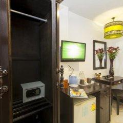 Отель Silver Resortel Номер Эконом с двуспальной кроватью фото 15