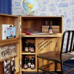 25hours Hotel HafenCity 4* Каюта разные типы кроватей фото 10