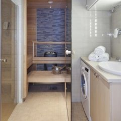 Отель Holiday Club Saimaa Apartments Финляндия, Лаппеэнранта - отзывы, цены и фото номеров - забронировать отель Holiday Club Saimaa Apartments онлайн ванная