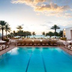 Nobu Hotel Miami Beach бассейн