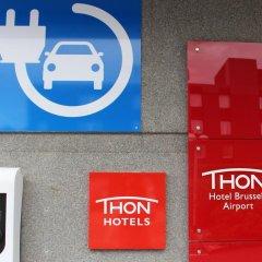 Thon Hotel Brussels Airport интерьер отеля фото 2
