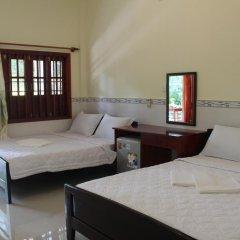 Отель Hoa Nhat Lan Bungalow 2* Стандартный номер с 2 отдельными кроватями