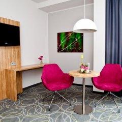 Отель City-herberge Dresden 3* Номер Комфорт с различными типами кроватей фото 2