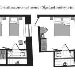 Отель Turgenev Residence 3* Стандартный номер фото 13
