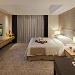 Отель Marco Polo Lingnan Tiandi Foshan Улучшенный номер с различными типами кроватей фото 5