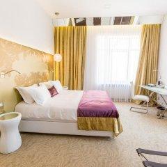 Гостиница Panorama De Luxe 5* Улучшенный номер разные типы кроватей фото 6