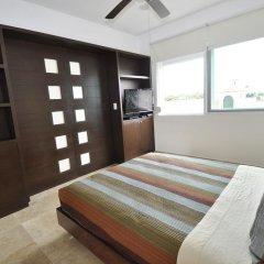 Отель La Papaya Plus 303 - LPP303 Мексика, Плая-дель-Кармен - отзывы, цены и фото номеров - забронировать отель La Papaya Plus 303 - LPP303 онлайн комната для гостей фото 2