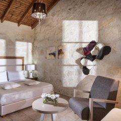 Отель Happy Cretan Suites Люкс с различными типами кроватей фото 4