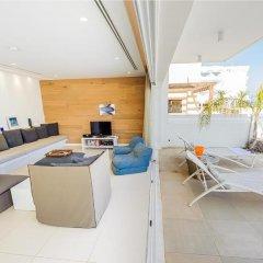 Отель Oceanview Villa 100 Кипр, Протарас - отзывы, цены и фото номеров - забронировать отель Oceanview Villa 100 онлайн комната для гостей фото 2