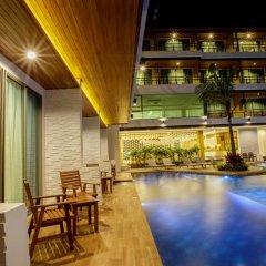 Отель Aqua Resort Phuket 4* Стандартный номер с двуспальной кроватью фото 11