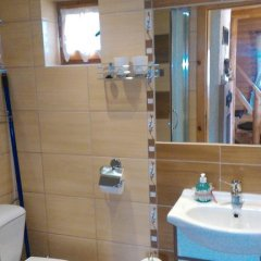 Отель Chata pod Belianskymi Tatrami Словакия, Герлахов - отзывы, цены и фото номеров - забронировать отель Chata pod Belianskymi Tatrami онлайн ванная фото 2