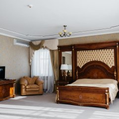 Гостиница Золотое Кольцо Кострома Люкс с двуспальной кроватью фото 22