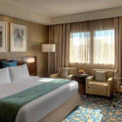 Отель Crowne Plaza Dubai Deira 5* Представительский номер с различными типами кроватей фото 3