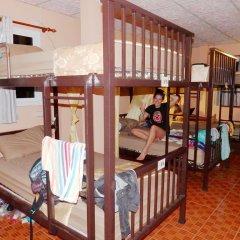 Jinda Hostel Кровать в общем номере с двухъярусной кроватью фото 5