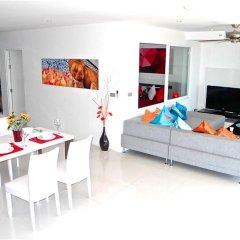 Отель Sunset Plaza Karon 2 bedrooms Nice Sea View комната для гостей фото 3