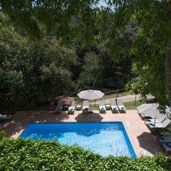 Hotel El Convent de Begur бассейн