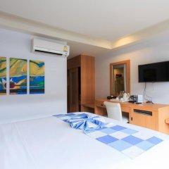 Chaweng Budget Hotel 3* Стандартный номер с различными типами кроватей фото 3